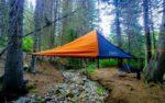 Подвесная палатка Bivymok выдержит груз весом до полтонны